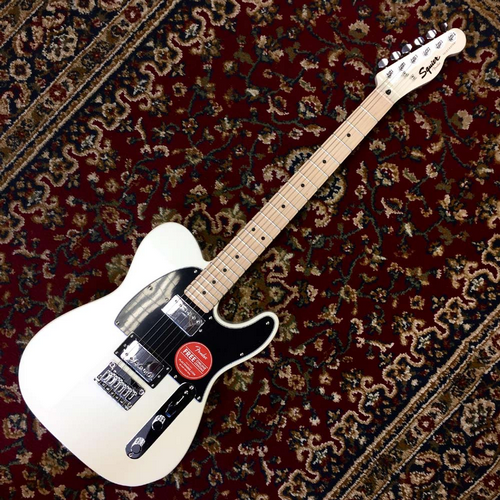 Squier Contemporary Telecaster HH Pearl White